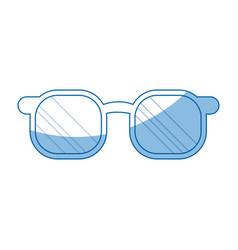 glasses accessorie fashion model style vector image