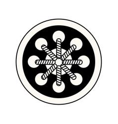 Dream catcher free spirit decoration ethnic image vector