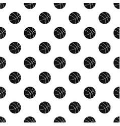Basketball ball pattern vector