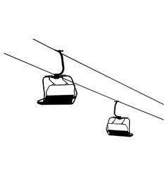 Chairlift vector