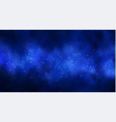 Cosmos space background vector