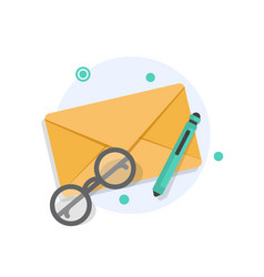 Email and messagingemail marketing campaign vector