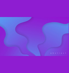fluid colorful 3d background vector image