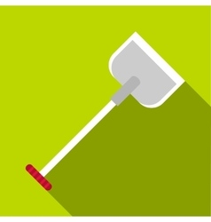 Shovel icon flat style vector