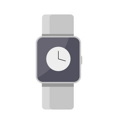 Smart watches mockup color vector