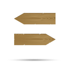 straight arrow points in different directions vector image