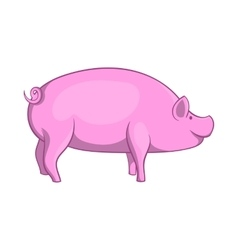 Pig icon cartoon style vector image vector image