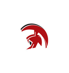 spartan logo vector image vector image