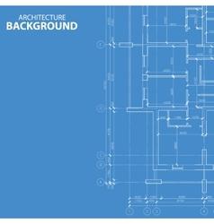 Blueprint architecture plan vector