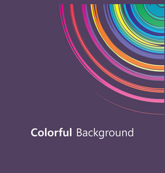 Colorful background abstract design creative vector