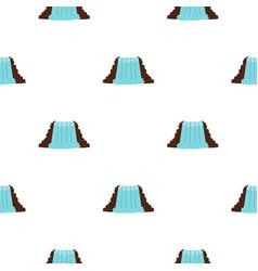 Niagara falls ontario canada pattern seamless vector