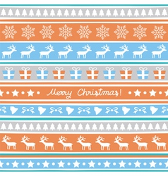Seamless christmas background17 vector