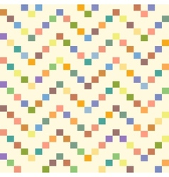 Seamless geometric pattern with zigzags seamless vector image