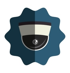 security cam cctv icon vector image