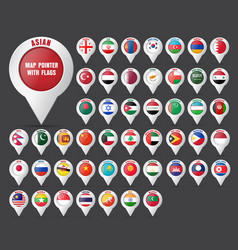 Set the pointer to the map with the flag vector