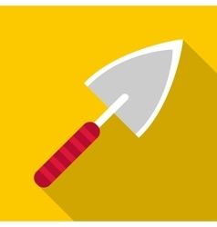 Small shovel icon flat style vector