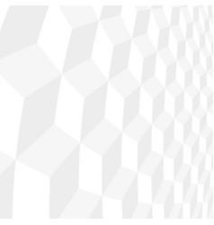white tile geometric decorative 3d texture vector image