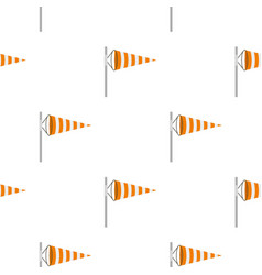 Wind direction indicator pattern seamless vector