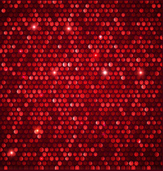 Abstract shining background with glossy sequins vector