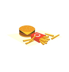 An fast food vector