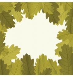 Autumn framework vector