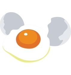 egg color 01 vector image