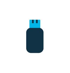 flash drive icon colored symbol premium quality vector image