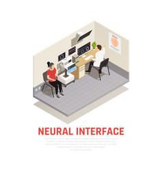 Neurology concept vector
