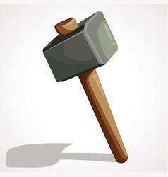 Cartoon sledge hammer vector
