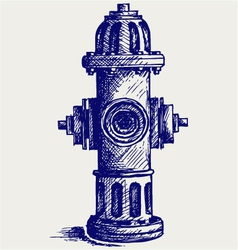 Fire Hydrant vector image vector image