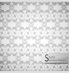 abstract seamless pattern mesh white texture vector image