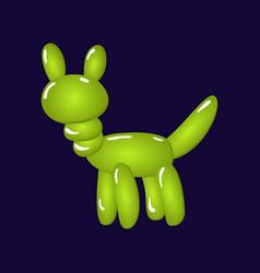 animal dog balloons balloon animals vector image