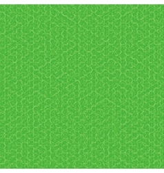 Green texture fabric background vector