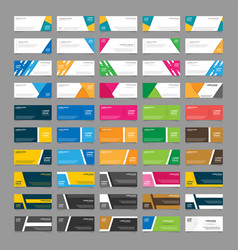 Mega collection 50 abstract geometric vector