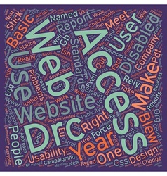 The DRC Blew It text background wordcloud concept vector