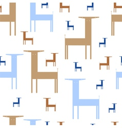 abstract animals vector image vector image