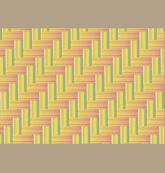 bamboo weave seamless background vector image