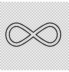 Limitless line icon vector image vector image