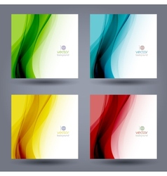 Abstract color template background Brochure design vector