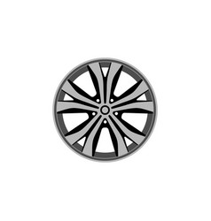 Car rim icon isolated on white background vector