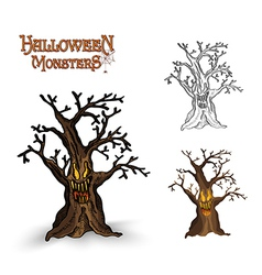 Halloween tree eps10 file vector
