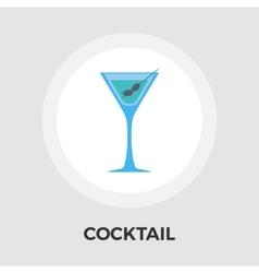 Martini single icon vector image