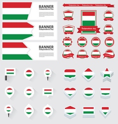 SET hungary vector image