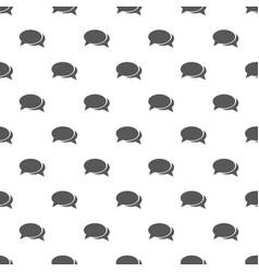 Speech bubbles pattern seamless vector