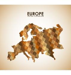 europe design vector image vector image