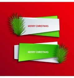 modern christmas background vector image