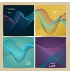 Mesh background abstract design vector image vector image