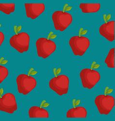 Apple farm background vector