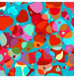 Beautiful colorful heart vector image
