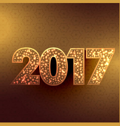Beautiful golden background for new year season vector